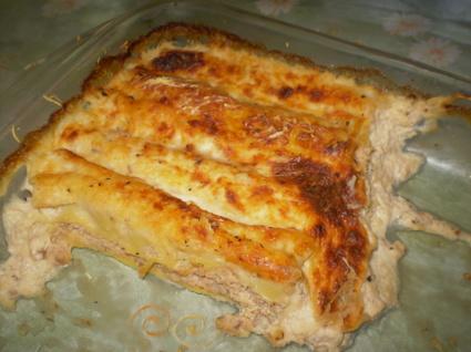 Recette de cannelloni saumon frais et champignons