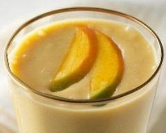 Recette smoothie banane, mangue et vanille