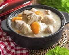 Recette ragoût de veau aux carottes et oignons