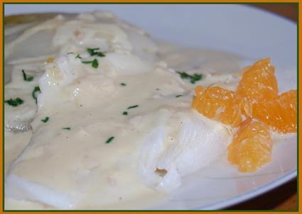 Recette de filet de colin sauce mandarine