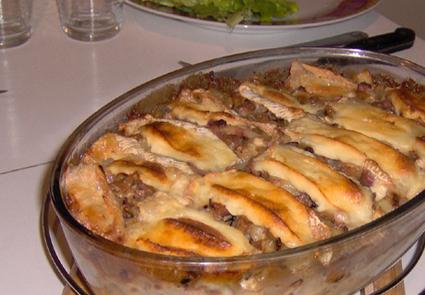 Recette de gratin champenois au chaource