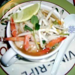 Recette bol vietnamien de nouilles de riz aux crevettes – toutes les ...