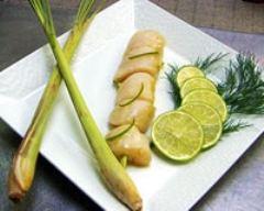 Recette brochettes de noix de saint-jacques à la citronnelle et ...