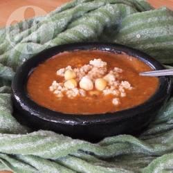 Recette chorba frik sans viande (soupe algérienne au boulgour ...