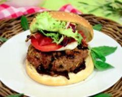 Recette hamburger inspiré d'italie