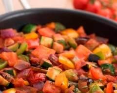 Recette poêlée de légumes du soleil