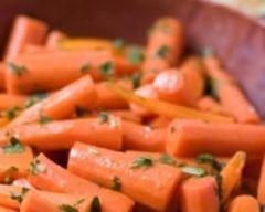 Recette carottes glacées au miel