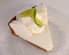 Recette tarte légère fromage blanc et citron vert