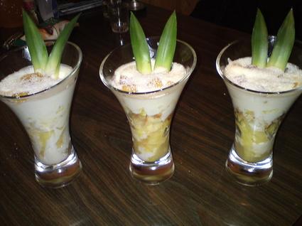 Recette de tiramisu ananas et noix de coco