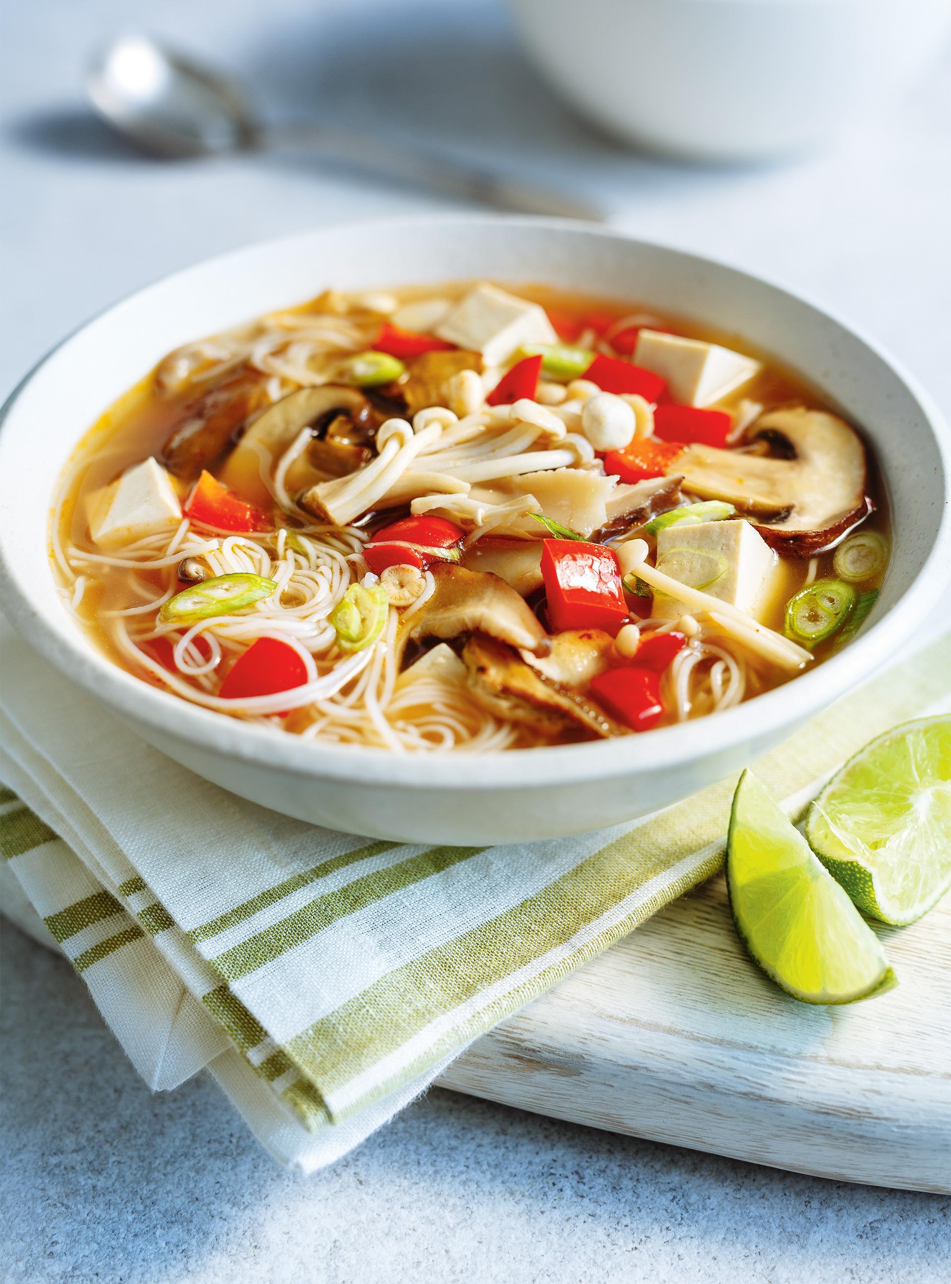 Soupe-repas miso aux champignons | ricardo