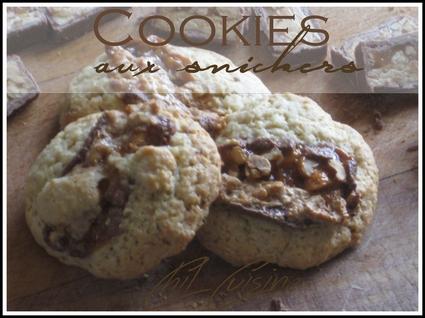 Recette de cookies aux snickers express