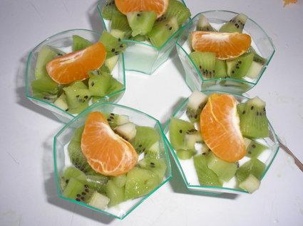 Recette de verrines pour les petits (aux kiwis)