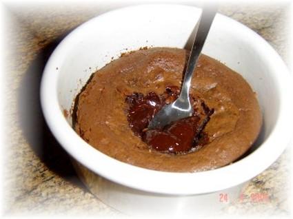 Recette fondant au chocolat individuel