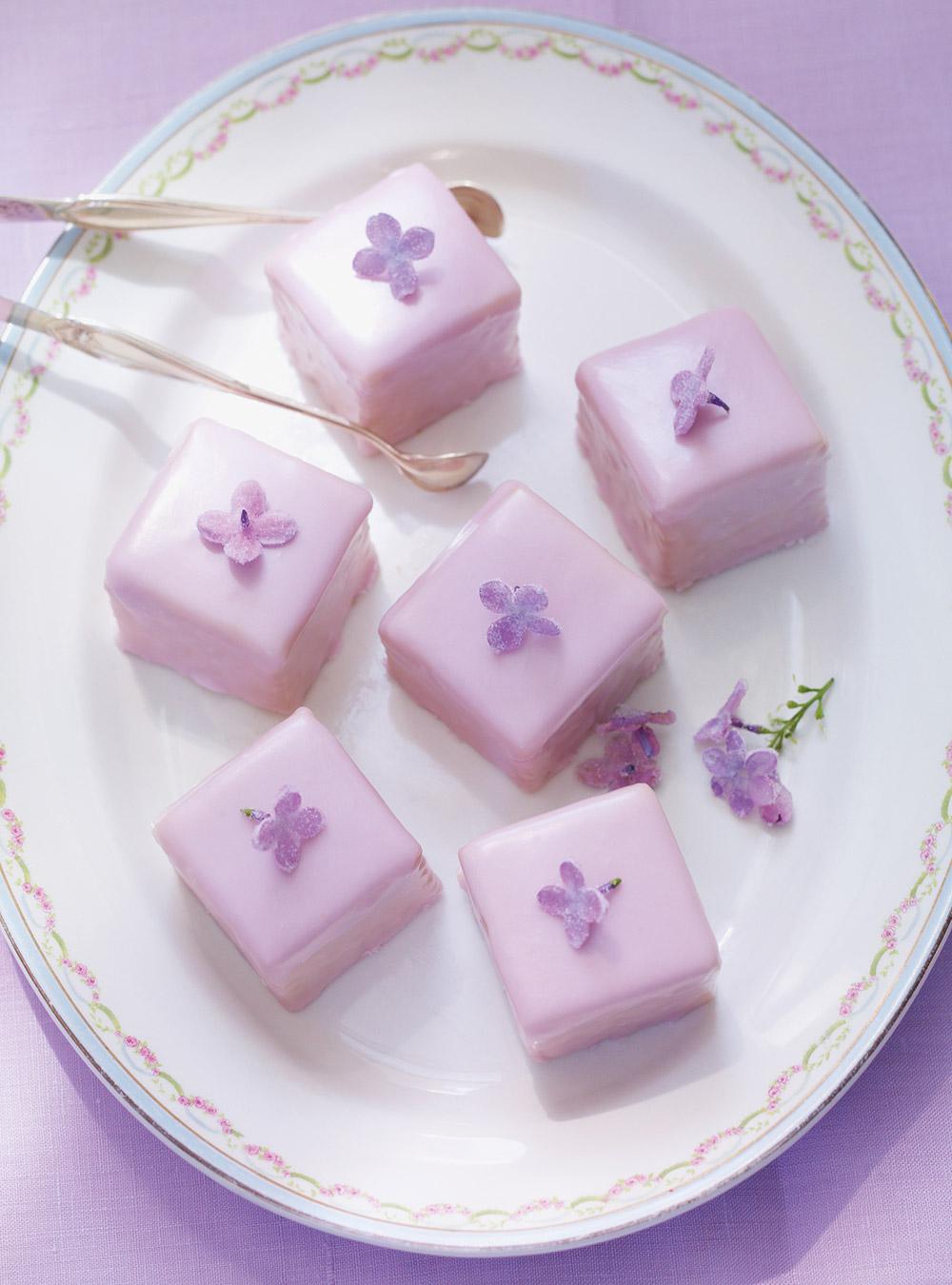 Petits fours au lilas cristallisé | ricardo