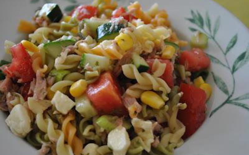 Recette Salade De Pates Estivale Pas Chere Cuisine Etudiant