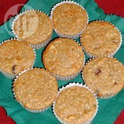 Recette muffins aux pommes et à l'avoine – toutes les recettes ...