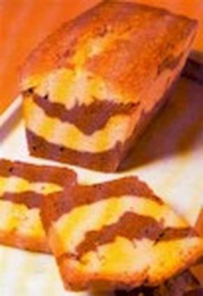 Recette de gâteau marbré à l'orange