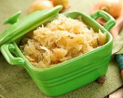 Recette choucroute aux pommes