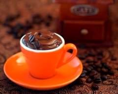 Recette mousse au chocolat au café