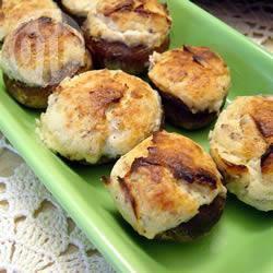 Recette champignons fourrés au fromage – toutes les recettes ...