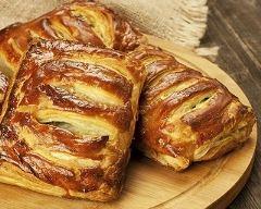 Recette pâté farcis ricotta-jambon, oeufs durs et mozzarella