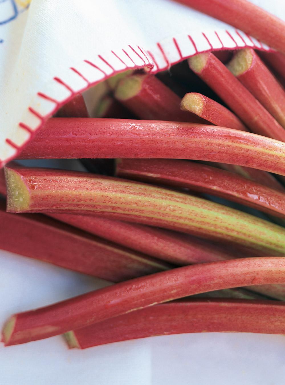 Croustillant à la rhubarbe | ricardo