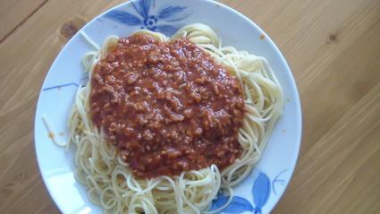 Recette de sauce bolognaise express