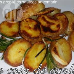 Recette pommes grenailles sautées au romarin – toutes les ...
