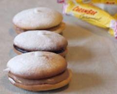 Recette whoopie pies carambars et nutella