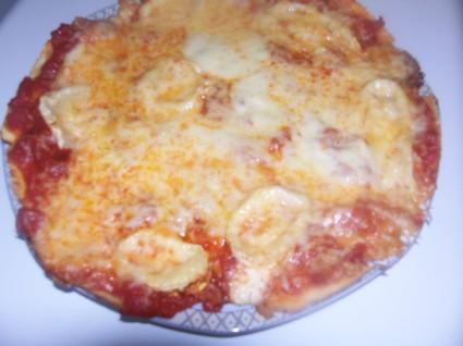 Pizza trois fromages à ma façon