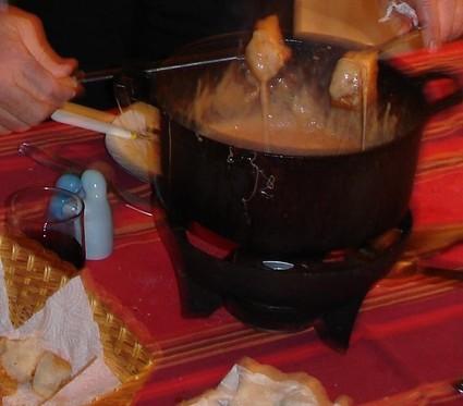 Recette de fondue au fromage sans alcool