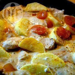 Recette poulet à la crème et aux abricots secs – toutes les recettes ...