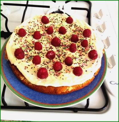 Recette gâteau framboise chocolat blanc (gâteau)