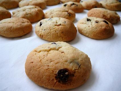 Recette de cookies au pralin et au chocolat blanc