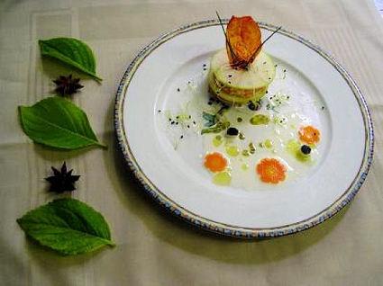 Recette de tartare aux 2 saumons et granny smith