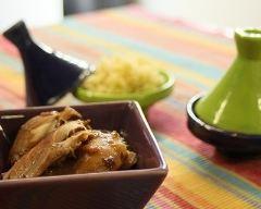 Recette tajine de poulet aux pruneaux et abricots