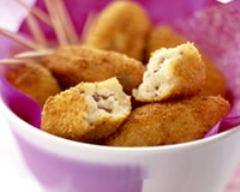 Recette croquettes de pommes de terre jambon et munster