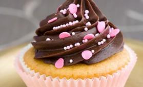 Cupcakes vanille- chocolat pour 12 personnes