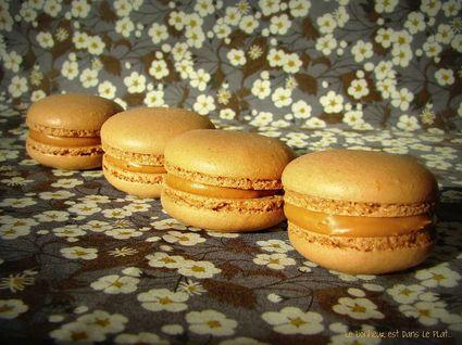 Recette de macarons carambars