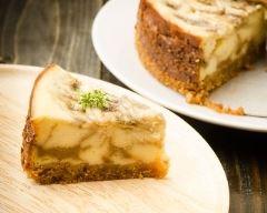 Recette cheesecake banane et carambars