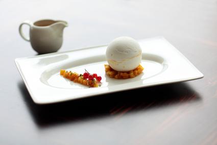 Recette de dessert boule de neige