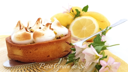 Recette de tartelettes citron amande meringuées