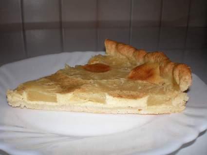 Recette de tarte à l'alsacienne aux pommes