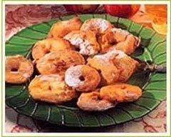 Recette beignets aux pommes caramélisés