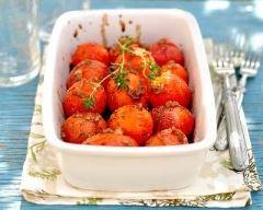 Recette tomates cerises rôties au four