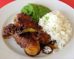 Recette poulet adobo sans gluten