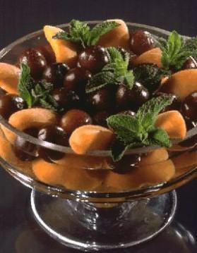 Fruits d'été en salade pour 4 personnes