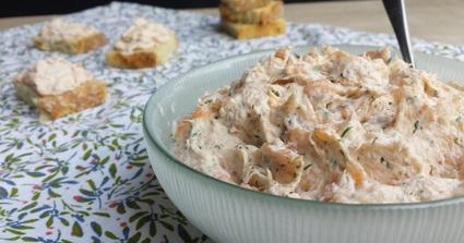 Recette rillettes aux deux saumons (apéritif à tartiner)