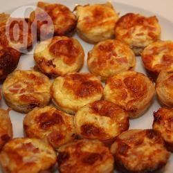 Recette mini quiches lorraine sans pâte – toutes les recettes ...