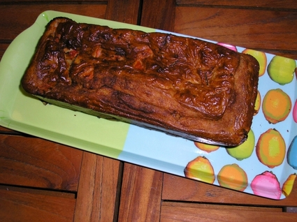 Recette de cake gorgonzola-tomate